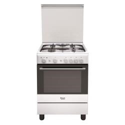 Cucina a gas Hotpoint H6gg1f (w) it