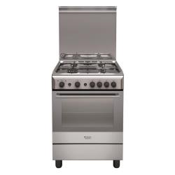Cucina a gas Hotpoint H6gg1f (x) it