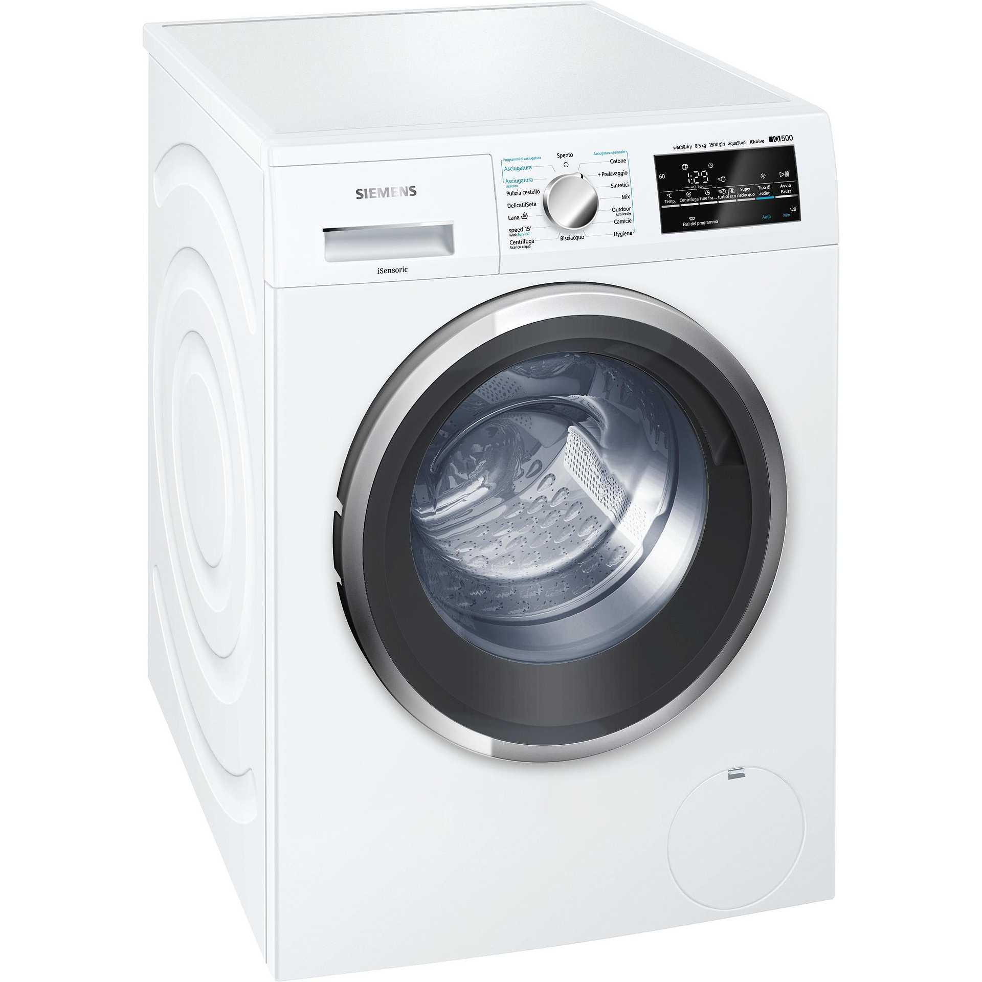 Assistenza lavasciuga Siemens Urgnano
